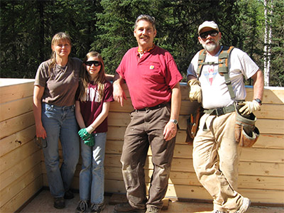 volunteer at Camp Li-Wa Summer Camp in Fairbanks